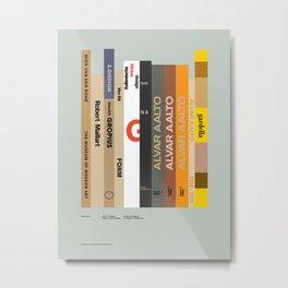 City of Cologne – Italian Furniture Design Metal Print