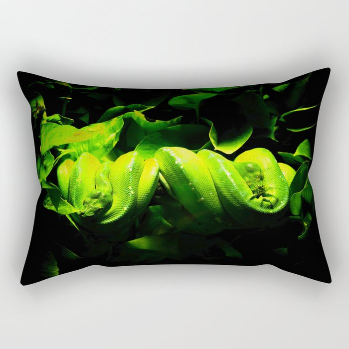 Sleeping snakes Rectangular Pillow