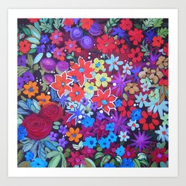 Colour Lush Art Print