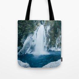 Winter Wahclella Falls Tote Bag