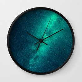 Galaxy Lights Wall Clock