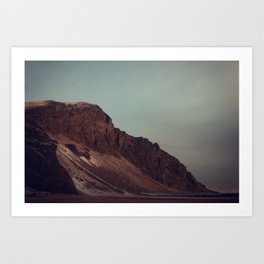 Naked Cliff Art Print