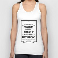 roald dahl Tank Tops featuring Roald Dahl quote  by Dickens ink.