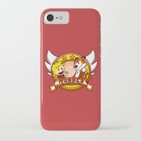 hobbes iPhone & iPod Cases featuring Calvin and Hobbes: Hobbes The Stuffed Tiger by Macaluso