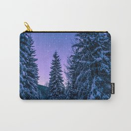 Winter-Snow-Trees Carry-All Pouch