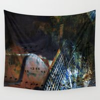 blues Wall Tapestries featuring Blues by  Agostino Lo Coco