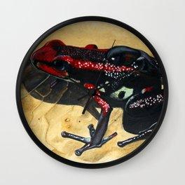 Cauca Posion Frog Wall Clock