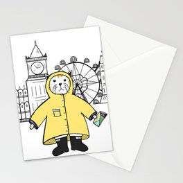 Travelling Cat Stationery Cards