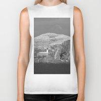 scotland Biker Tanks featuring Bass Rock, Scotland by Phil Smyth