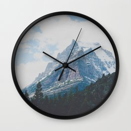 Crown of the Continent Wall Clock