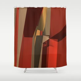 Down Here Shower Curtain