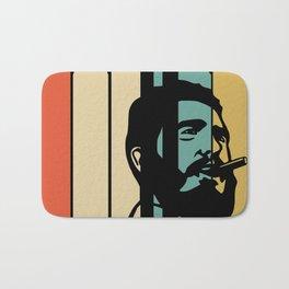 Fidel Castro Retro Bath Mat