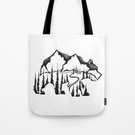 Bear Valley Tote Bag