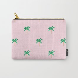 Palm trees pastel pattern Carry-All Pouch