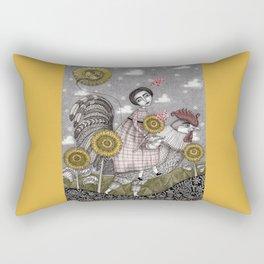 Last Days of Summer Rectangular Pillow