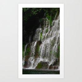 La Calera Waterfalls Art Print