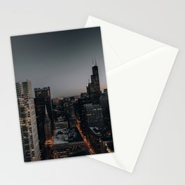 City Night  Stationery Cards