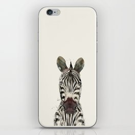 little zebra iPhone Skin