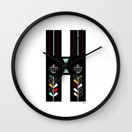 Hope - H Wall Clock