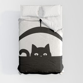 Invasive Species - UFO Cat Comforters
