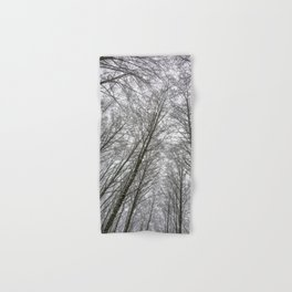 Snow Mountain Winter Forest VI - Nature Photography Hand & Bath Towel