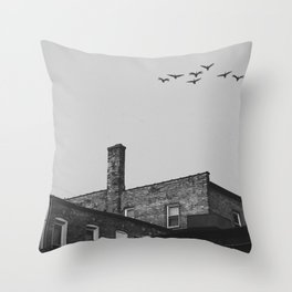 Layers of Architecture Throw Pillow