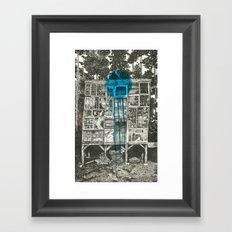 Shot Down Framed Art Print