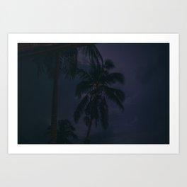 Storm, Railay Bay Art Print