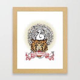 Reog Framed Art Print