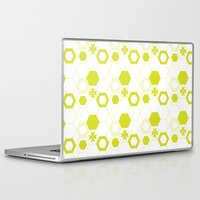 polygon Laptop & iPad Skins featuring Polygon by Julianne Chia