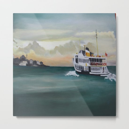 Ferry İstanbul Metal Print