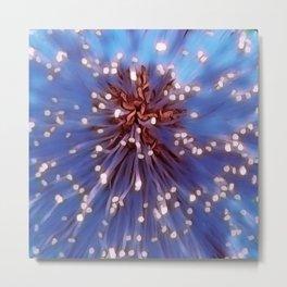 A Floral Galaxy Metal Print