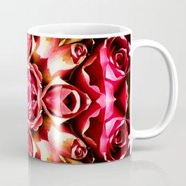 Pink Rose Abstract Coffee Mug