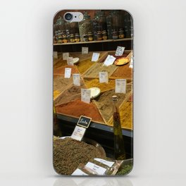 Spices of France iPhone Skin