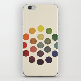 'Parsons' Spectrum Color Chart' 1912, Remake iPhone Skin