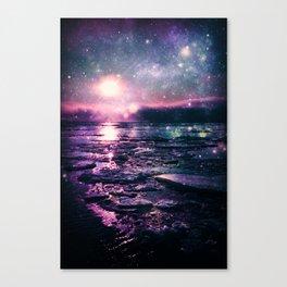 Mystic Waters Mermaid Gradient Canvas Print