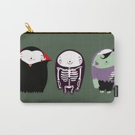 happy monster friends Carry-All Pouch