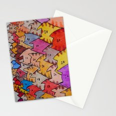 Cats02 Stationery Cards