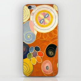 """Hilma af Klint """"The Ten Largest, No. 03, Youth, Group IV"""" iPhone Skin"""