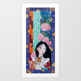 Goddess of Prosperity Art Print