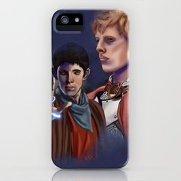 Merlin and Arthur iPhone Case