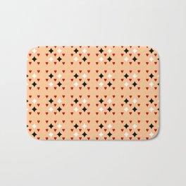 heart and love 3 - ceramic colors Bath Mat