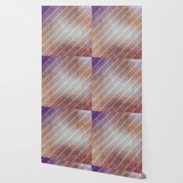 Vintage Antique Grunge Striped Pattern Wallpaper