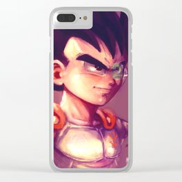 Young Prince II Clear iPhone Case