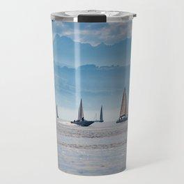 Sailboats (Lake Constance, Germany) Travel Mug