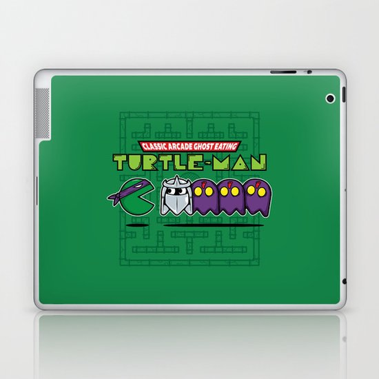 Hero in a Pac-Shell (Donnie) Laptop & iPad Skin