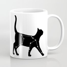 Aquarius Cat Coffee Mug