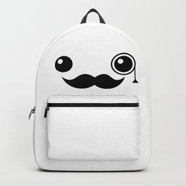 Cute Mr. Important Face Backpack