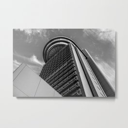 Bunkyo Civic Center Metal Print