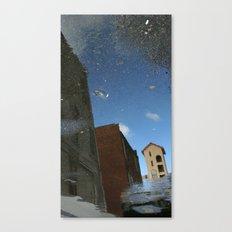 yellA hannavaS: Backward  Canvas Print